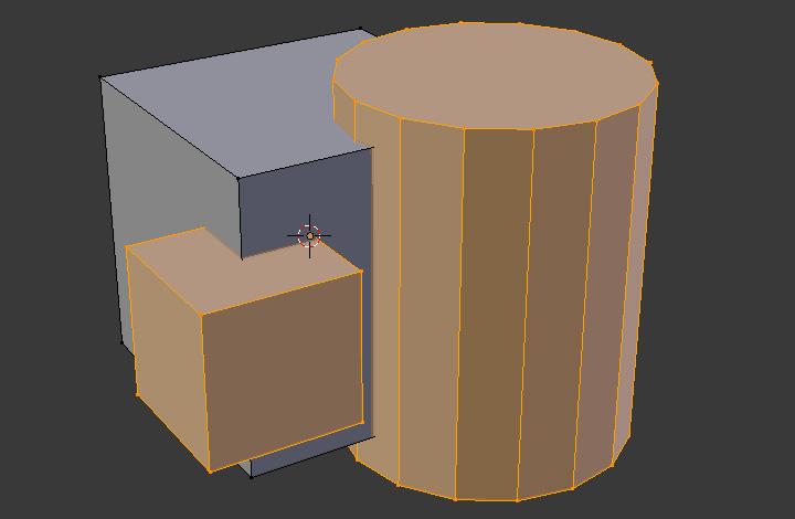 Blender2.77新機能「交差(ブーリアン)」